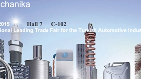 We are in Automechanika Fair which will be held in Istanbul during 9-12 April 2015.